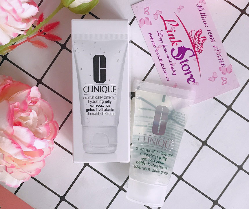 Gel dưỡng ẩm Clinique Dramatically Different Hydrating Jelly Anti-Pollution