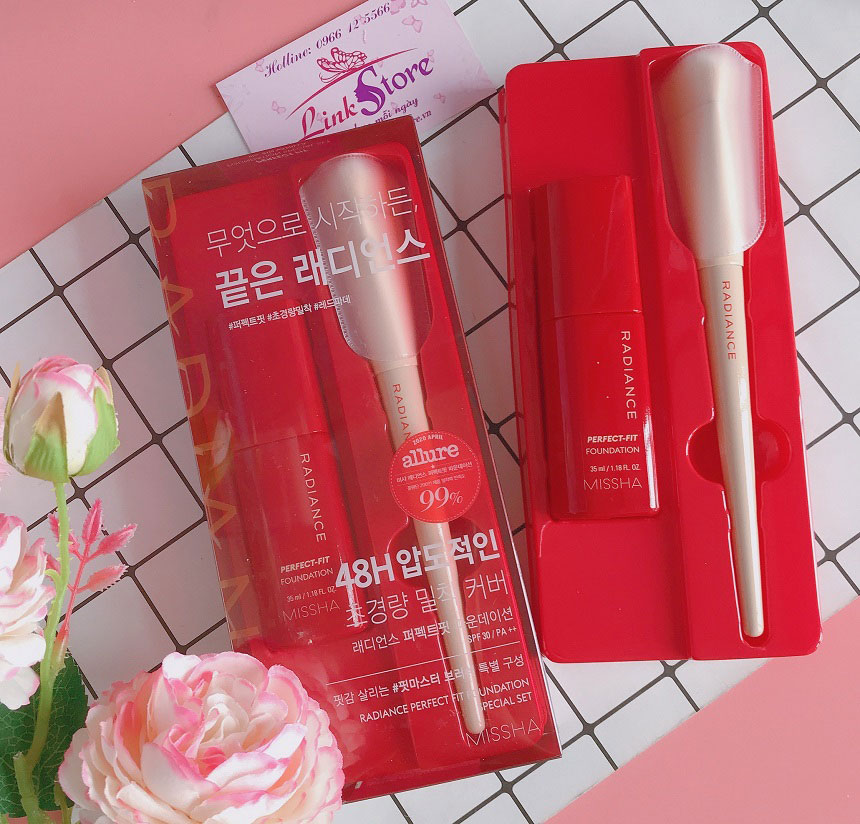 Kem nền Missha Radiance Perfect-Fit Foundation