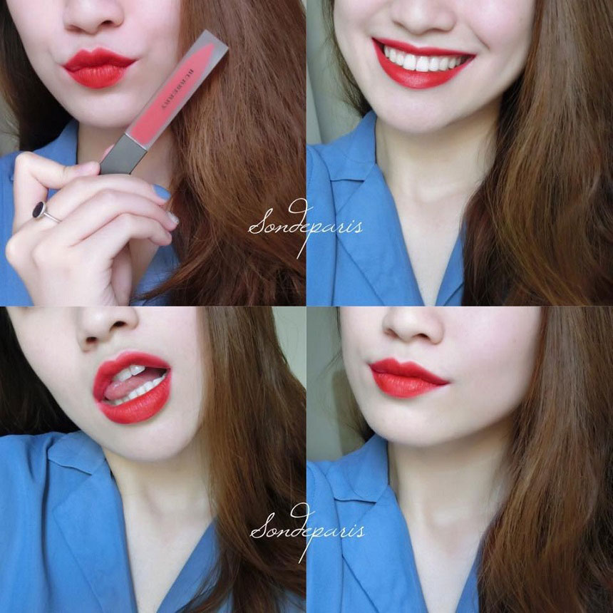 Son Burberry Kisses Lip Lacquer No.41 Military Red
